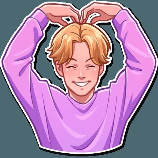 K-pop @TrendingStickers - Sticker 8