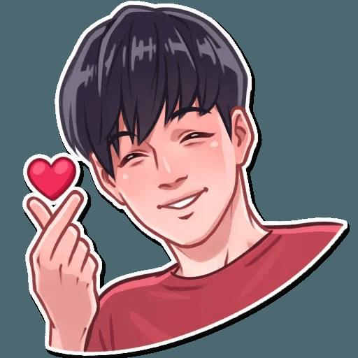 K-pop @TrendingStickers - Sticker 2