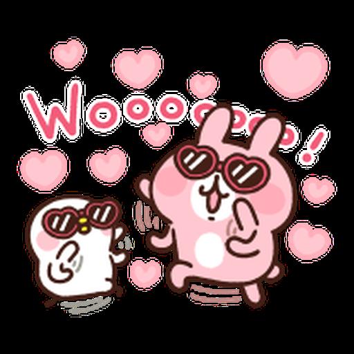 Kanahei Piske & Usagi Celebrate - Sticker 10