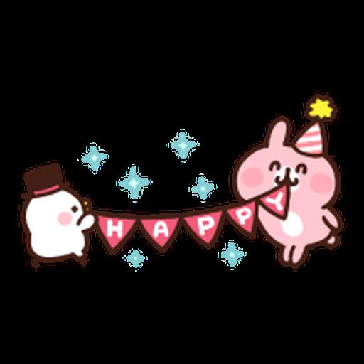 Kanahei Piske & Usagi Celebrate - Sticker 19