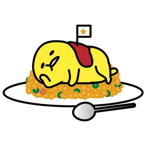 Gudetama - Sticker 7