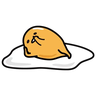 Gudetama - Tray Sticker