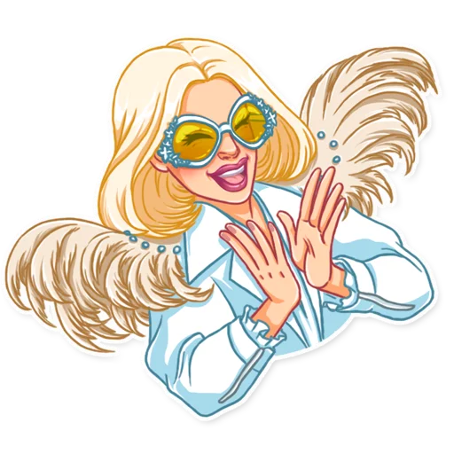 Lady gaga - Sticker 21