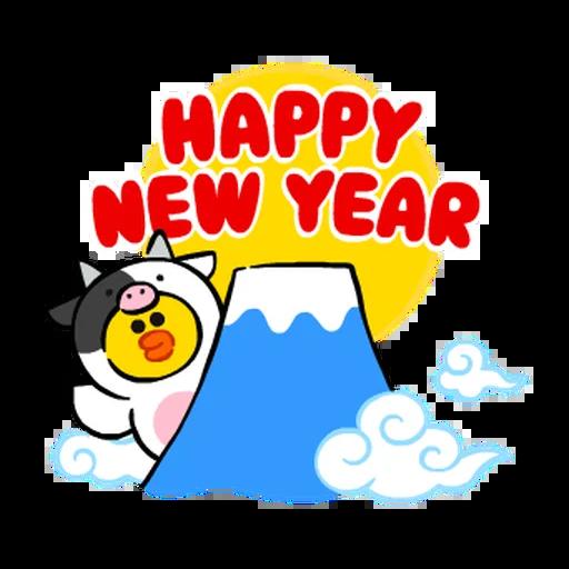 New year 4 - Sticker 4