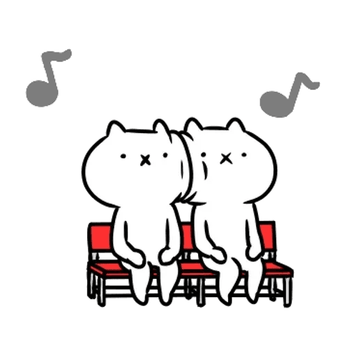 反應過激的貓 01 - Sticker 23