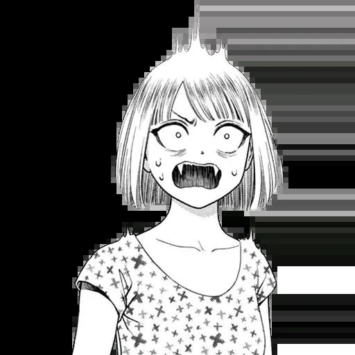 Random manga reactions - Sticker 10