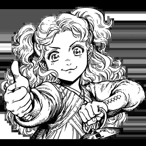 Random manga reactions - Sticker 3
