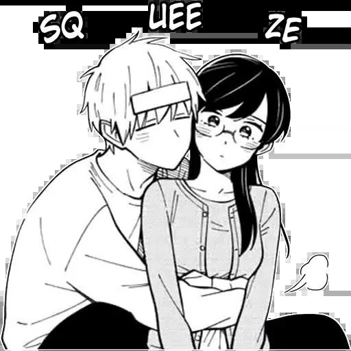 Random manga reactions - Sticker 17