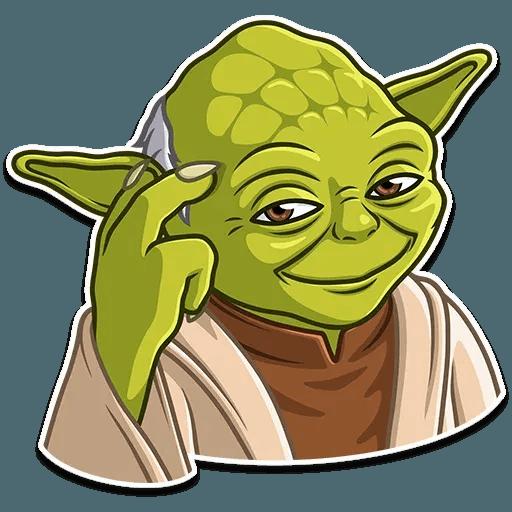 Master Yoda - Sticker 3