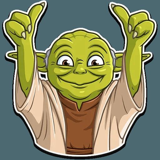 Master Yoda - Sticker 16