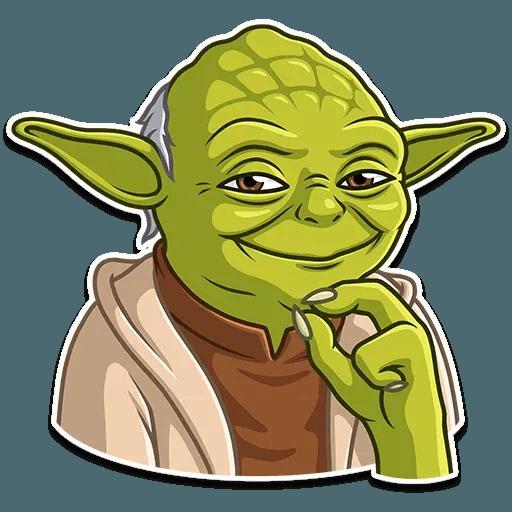 Master Yoda - Tray Sticker