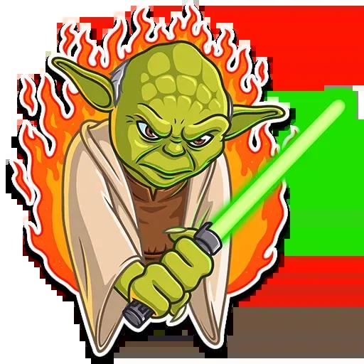 Master Yoda - Sticker 13