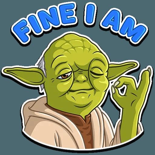 Master Yoda - Sticker 9