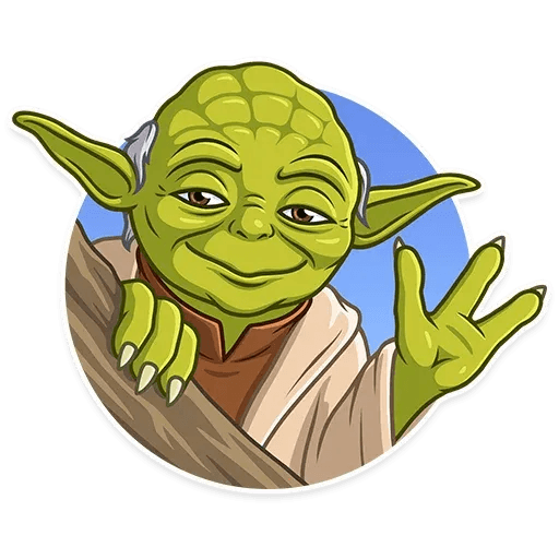 Master Yoda - Sticker 20