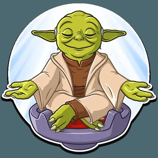 Master Yoda - Sticker 17