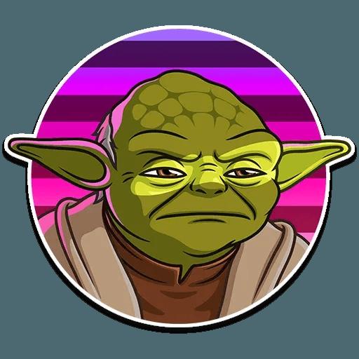 Master Yoda - Sticker 2