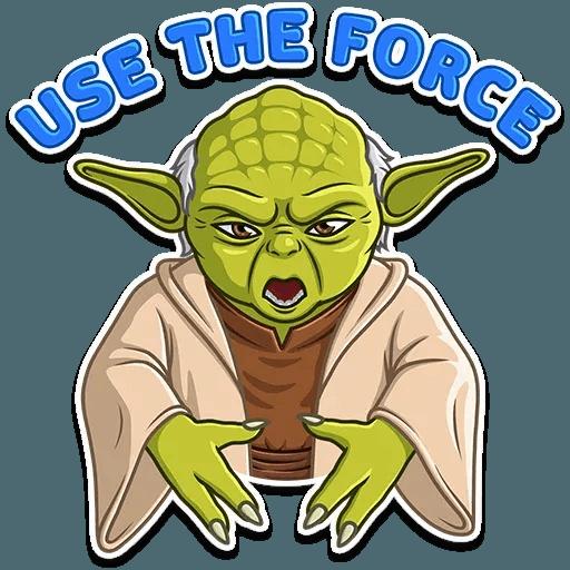 Master Yoda - Sticker 6