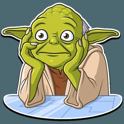 Master Yoda - Sticker 23