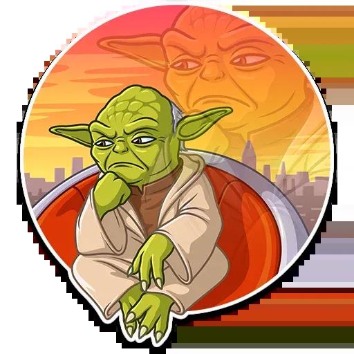 Master Yoda - Sticker 21