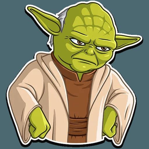 Master Yoda - Sticker 25