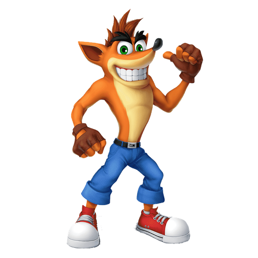 crash bandicoot 1of 2 - Sticker 2