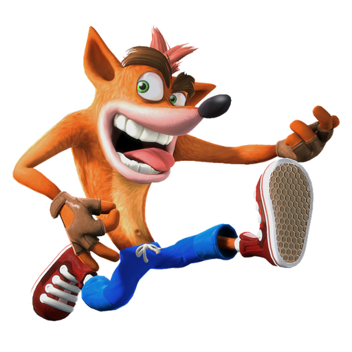 crash bandicoot 1of 2 - Sticker 19