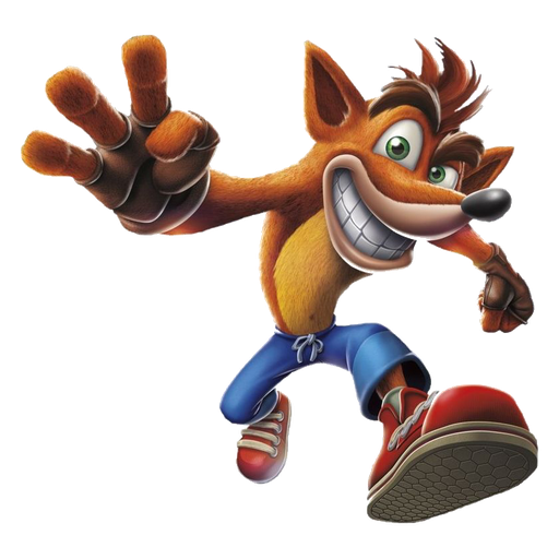 crash bandicoot 1of 2 - Sticker 15