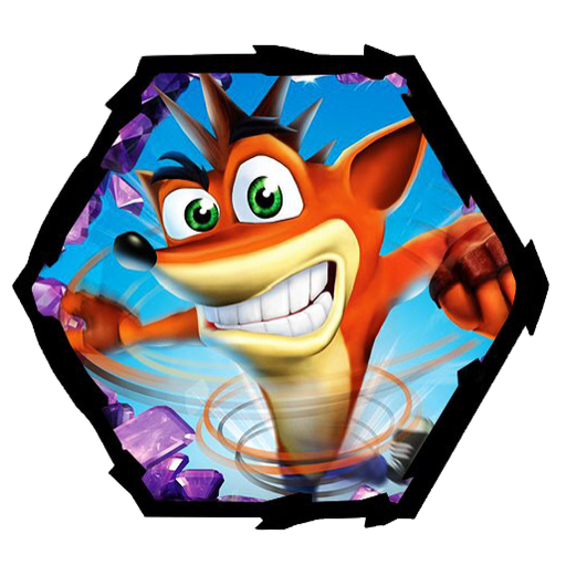 crash bandicoot 1of 2 - Sticker 20