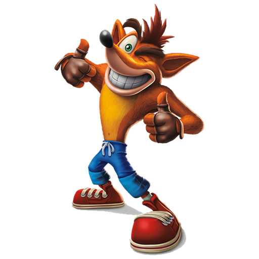 crash bandicoot 1of 2 - Sticker 18
