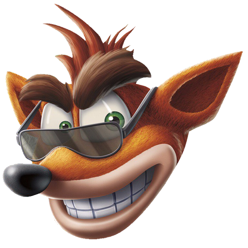 crash bandicoot 1of 2 - Sticker 25