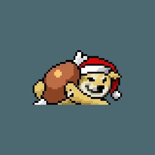 Xmasdog - Sticker 2
