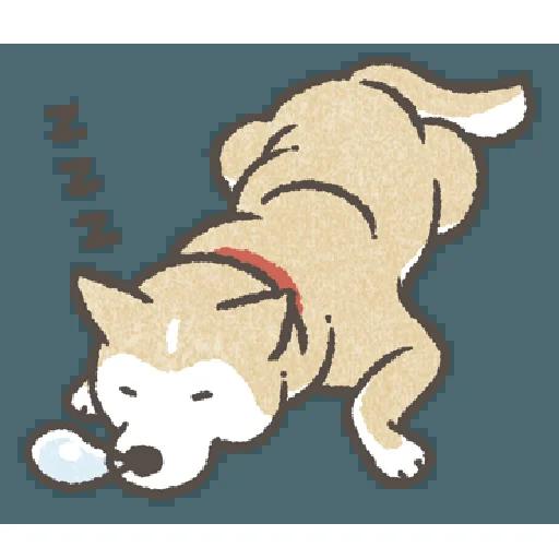 Shiba3 - Sticker 28