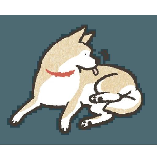 Shiba3 - Sticker 10