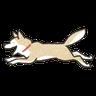 Shiba3 - Tray Sticker