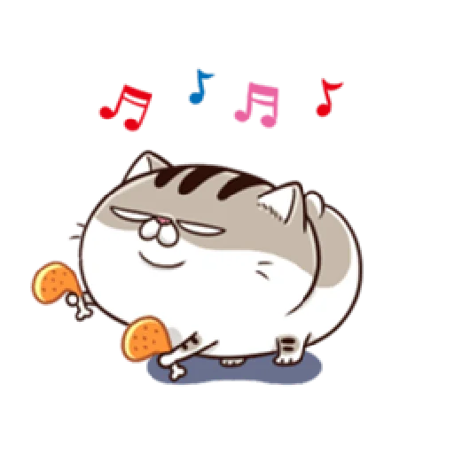 Ami fat cat6 - Sticker 1