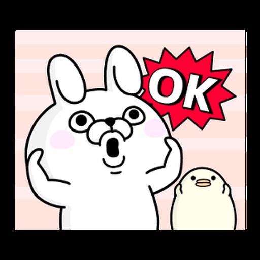 YOSISTAMP-兔兔100%過激貼圖 1 - Sticker 1