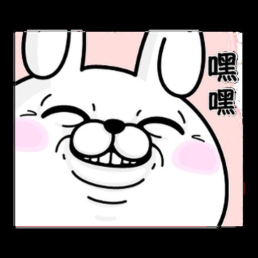 YOSISTAMP-兔兔100%過激貼圖 1 - Sticker 11