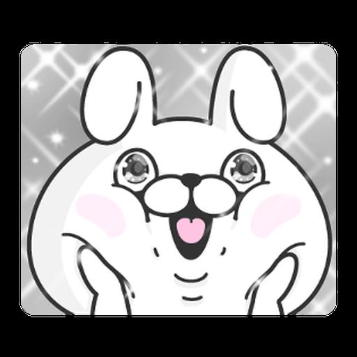 YOSISTAMP-兔兔100%過激貼圖 1 - Sticker 28