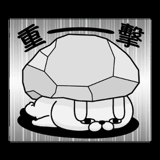 YOSISTAMP-兔兔100%過激貼圖 1 - Sticker 15