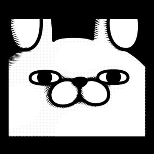 YOSISTAMP-兔兔100%過激貼圖 1 - Sticker 3