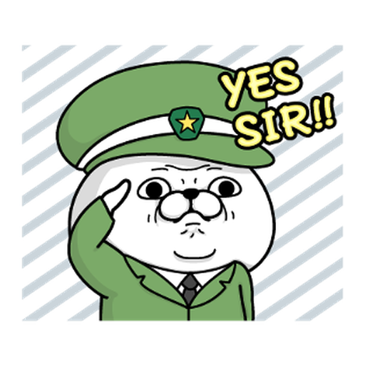 YOSISTAMP-兔兔100%過激貼圖 1 - Sticker 5