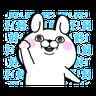 YOSISTAMP-兔兔100%過激貼圖 1 - Tray Sticker