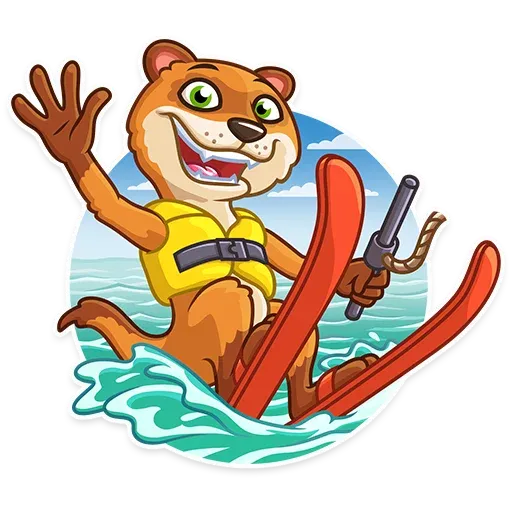 It's Vacation Time - Sticker 5