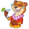 It's Vacation Time - Tray Sticker