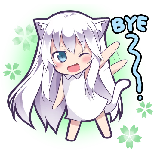 MashiroNeko2 - Sticker 3