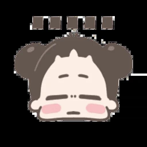 啾啾妹 - Sticker 3