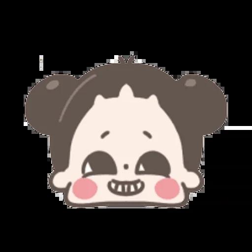 啾啾妹 - Sticker 22