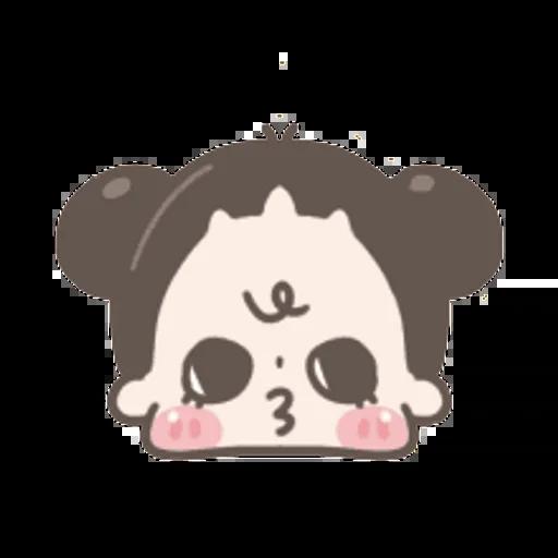 啾啾妹 - Sticker 6