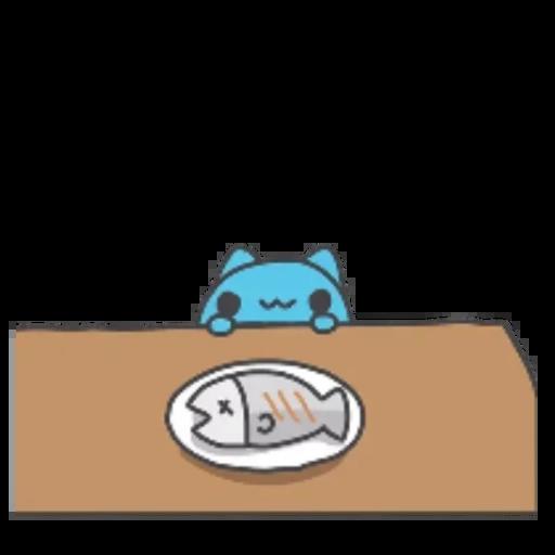 Bugcat+Capoo - Tray Sticker