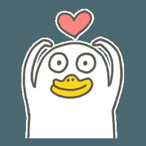 小劉鴨1 - Sticker 11